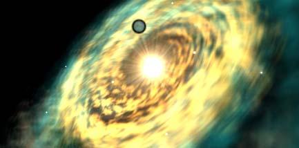 Planeta Dantooine na mapě galaxie