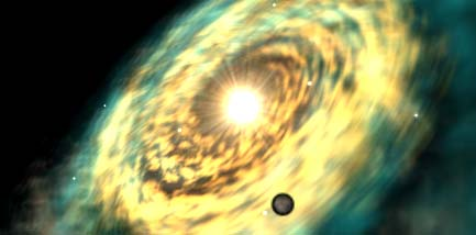 Planeta Koriban na mapě galaxie