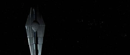 Vesmírná stanice Star Forge z bližšího pohledu