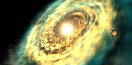 Planeta Tatooine na mapě galaxie
