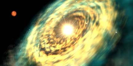 Měsíc Yavin IV na mapě galaxie
