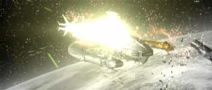 Obrázek vesmírné lodě Gotova jachta