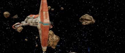Obrázek vesmírné lodě Harbinger
